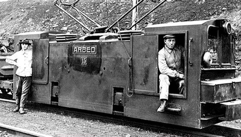 Trains de mines
